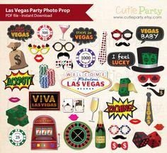 Las Vegas Party foto stand Prop Casino Fiesta foto stand Prop