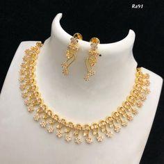 1 Gram Gold Jewellery, Gold Jewellery Design, Diamond Jewellery, Antique Jewellery Designs, Gold Ring Designs, Pendant Jewelry, Jewelry Art, Jewelry Tools, Gold Pendant