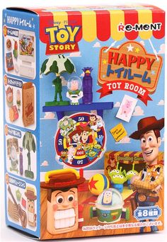 Disney Toy Story Happy Toy Room Re-Ment miniature blind box