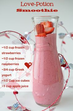 Love Potion Smoothie- superhealthykids.com