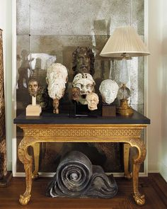 Richard Shapiro, the notable Los Angeles designer/antiquaire/ art collector.