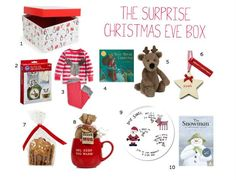 Christmas Eve Surprise Box by mumofboys: Start a new family tradition and add some magic to the season by filling a surprise box for your kid on Christmas eve. Tailor it to age, preference and budget. #Kids #Christmas_Eve_Surprise _Box