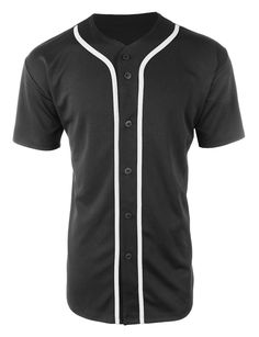Gear up for baseball season in this active short sleeve button up baseball jersey shirt. This athletic-inspired style is great to wear for outdoor activities or weekend barbecues. Looks great by itsel Oversized Button Down Shirt, Short Sleeve Button Up, Long Sleeve Shirts, Oversized Tops, Baseball Tops, Baseball Jerseys, Baseball Jackets, Swag Outfits, Cool Outfits