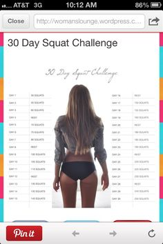 Butt and thighs workout