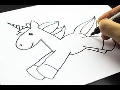 How To Draw A Unicorn (a cute and cuddly one)