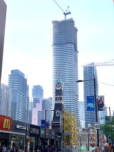 Most of those buildings werent there 10 years ago (Toronto Canada) #city #cities #buildings #photography