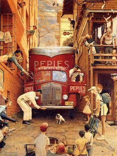 Norman Rockwell illustrations