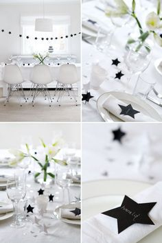 How To Decorate Your Dinner Table Cosy Christmas, Merry Christmas Happy Holidays, Modern Christmas, Christmas And New Year, New Years Decorations, Festival Decorations, Christmas Decorations, Table Decorations, New Year Diy