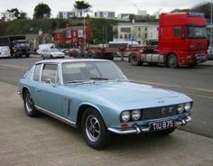 1968 Jensen Interceptor:  Car equivalent of Beckham in his knickers.