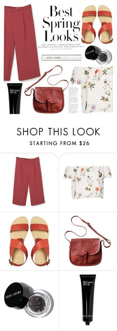 """clean"" by raniaghifaraa ❤ liked on Polyvore featuring MANGO, Topshop, H&M, ASOS, Toast and Bobbi Brown Cosmetics"