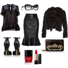 A fashion look from October 2014 featuring dark blue short sleeve shirt, marc by marc jacobs jacket and real leather skirt. Browse and shop related looks. Leather Skirt, Shoe Bag, Skirts, Polyvore, Stuff To Buy, Shopping, Collection, Design, Women