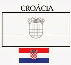 Blog de Geografia  Bandeiras dos 32 países da copa do mundo 2014 para  colorir c7af7267b1f12