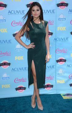 Le tapis rouge des Teen Choice Awards 2013: Selena Gomez