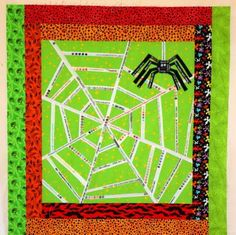 Selvage spider web