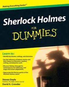 :))) ! Sherlock Holmes For Dummies 9780470484449, Paperback, BRAND NEW FREE P&H