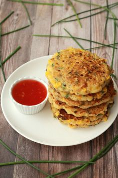 Easy and delicious vegan corn fritters. Fabulous either hot or cold, savory or sweet. Ideal for breakfast or as a side dish.
