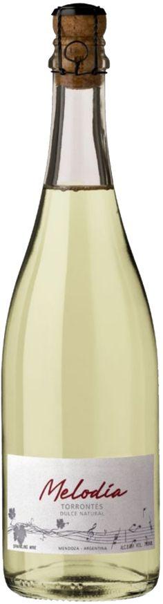 """Melodia"" Torrontés NV espumoso dulce - Melodía wines, Luján de Cuyo, Mendoza-------------------------Terroir: Valle de Famatina - La Rioja--------------------------------------- Método Charmat"