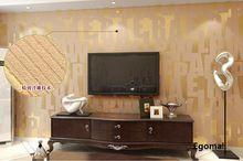 חדש 3d טפט מודרני lettermural דקורטיבי 3d טפט papel דה פארדה נייר קיר קיר נייר נצנצים מגנט קישוט הבית(China (Mainland))