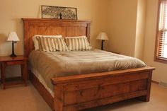 Our Farmhouse bed | Do It Yourself Home Projects from Ana White