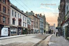 Postcards of the Past - Vintage Postcards of Cardiff, Wales Cymru, Cardiff, South Wales, Planet Earth, Welsh, Vintage Postcards, Homeland, Bristol, Over The Years