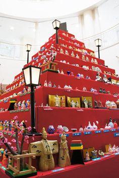 Ceramic Hina Dolls in Seto, Aichi Pref. Japan 瀬戸 ひなミッド --------- #japan #japanese