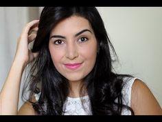 Tutorial Maquiagem para Trabalho e Faculdade | Make-up Tutorial for Work and Uni by Jéssica Flores (in Portuguese)