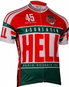 Sunday In Hell Cycling Jersey by Retro | #cycling #jerseys