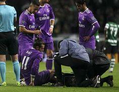 Bale probablemente será baja para el Real Madrid-Barcelona