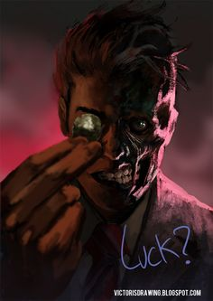 Here's my latest Gotham City Mugshot: Two-Face! It's been a long time coming and hopefully I'll be able to do more of the series without such a long break in between like with the Joker. For now th...