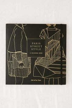 Paris Street Style A Coloring Book By Zoe De La Cases