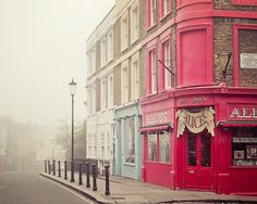 Portobello Road, London!! remember the movie bedknobs and broomsticks?!? Disney!!
