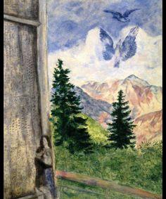 Veduta di Peira Cava (Marc Chagall, 1930, Collezione privata)