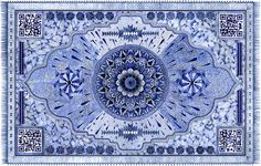 Super Intricate Rug Illustrations Made with Bic Pens