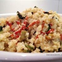 Cous Cous alle verdure: ricetta light