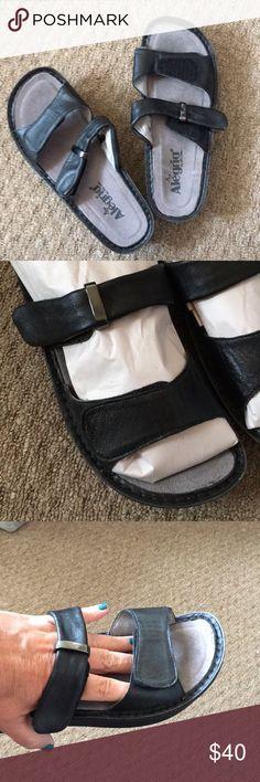 adb596071ae6 Alegria Sandals EUC worn once Alegria Sandals Black size 8 (38) All Leather  shoes