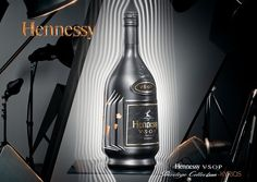 Hennessy Cognac is proud to announce the new collector edition bottle, Kyrios, the key to unlock the codes of the legendary world of Hennessy V.SO.P. As a tribute to the brands history and origin in 1817, the V.S.O.P bottle is presented with a stylish new matte carbon covering and unique codes which tell its rich story.
