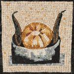 Reproduction d'un détail de pavement des Musées du Vatican - Christine Kerfant