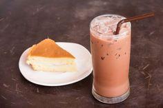 Mliečny a chutný kakaový koktail