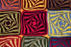 Craft assortment- repeating the same pattern in multiple colours.
