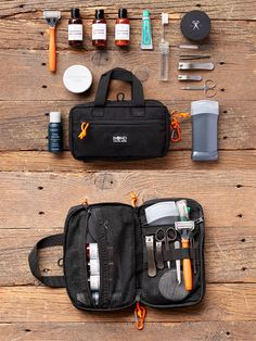 Get organized with the world's toughest dopp kit. Only $44