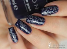 Magic Harry Potter stamp NAILS! Do you like it!? I do! :)
