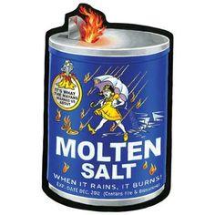 Molten Salt: Topps Wacky Packages Wall from WALLS 360. http://www.walls360.com/wackypackages Graphics