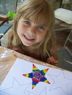 Come Together Kids: Crayon Painting!