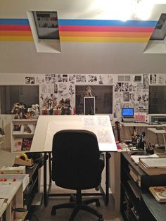 comic artist studio - Google Search
