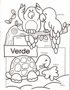 How To Learn Spanish: The Greetings Preschool Spanish, Elementary Spanish, Spanish Activities, Spanish Classroom, Teaching Spanish, Elementary Schools, Color Activities For Toddlers, Color Worksheets For Preschool, Preschool Colors