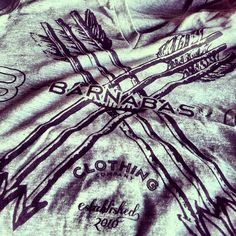 Barnabas Clothing Co. Deep V Arrows Tshirt