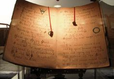 One of the Book of Shadows owned by Gerald Gardner, left in his will to Doreen Valiente, and through her to John Belham-Payne. - Midnightblueowl/Wikimedia Commons