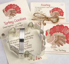 ANN CLARK~TURKEY~ tin cookie cutter~MADE IN USA (NEW) stores.ebay.com/thegingerbreadcollection