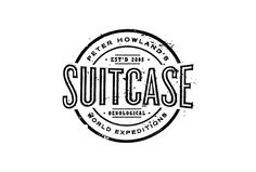 Suitcase Vintage Logo Design by A. Micah Smith