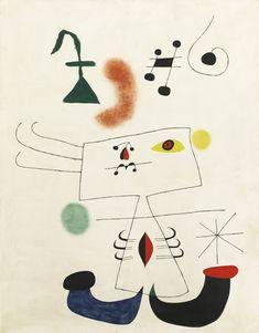 Joan Miró; 'Femme rêvant de l'evasion', 1945